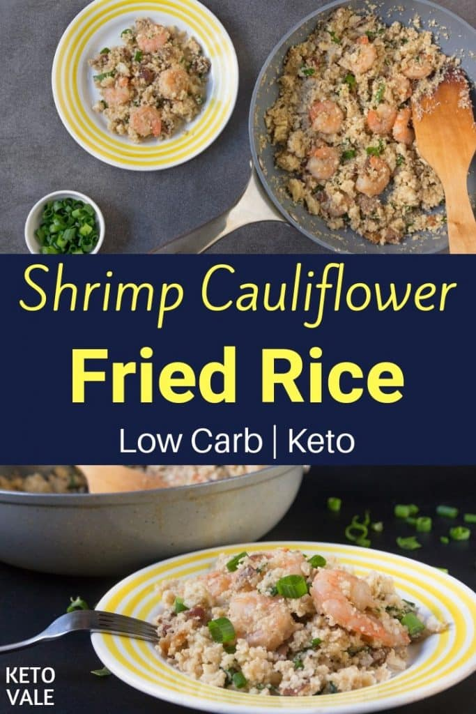 keto shrimp fried rice