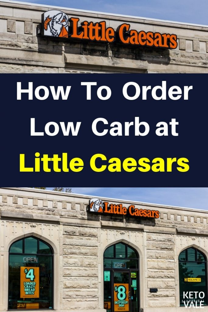Low Carb at Little Caesars