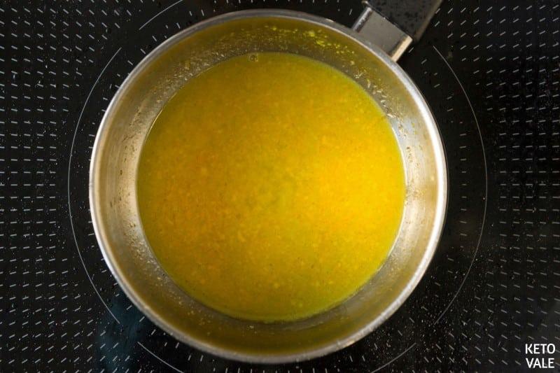 make orange sauce