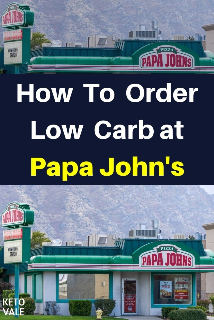 Papa John S Low Carb Options What To Eat And Avoid Keto Vale