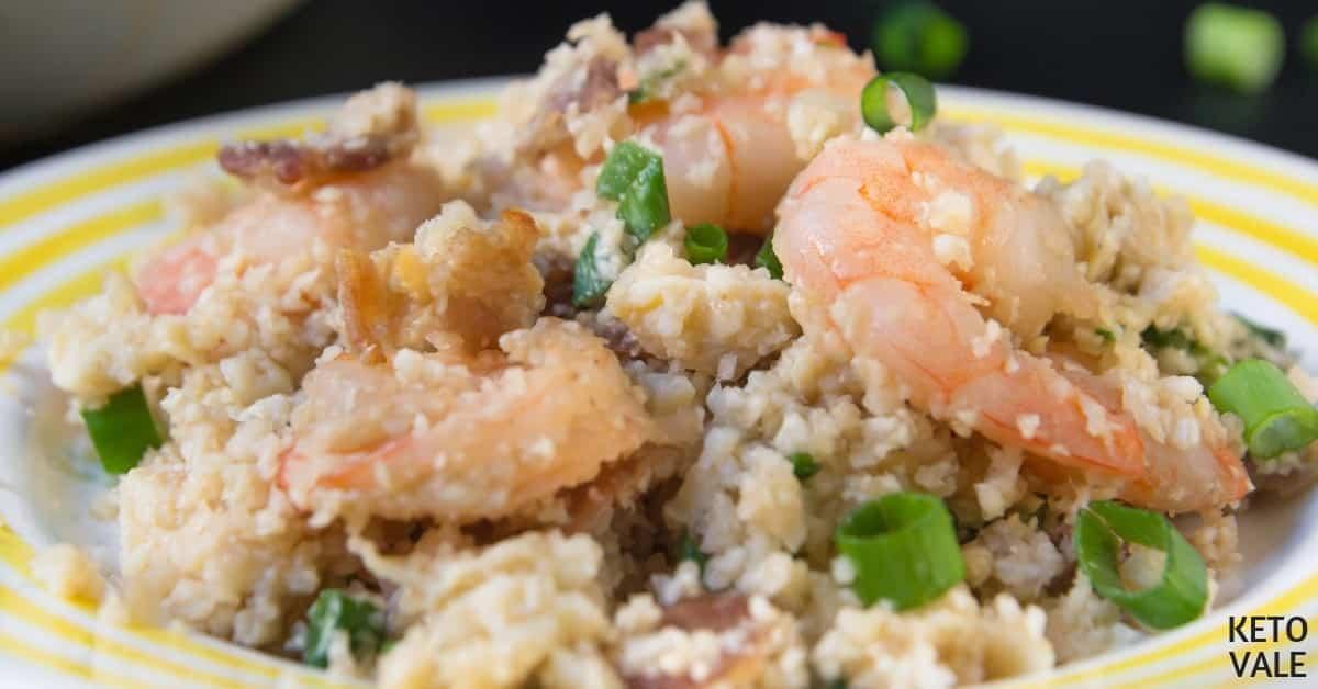 shrimp cauliflower fried rice