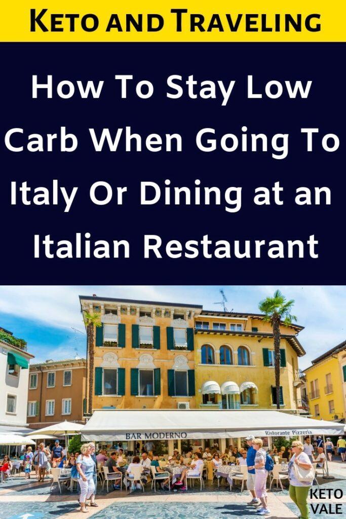 keto italian restaurant