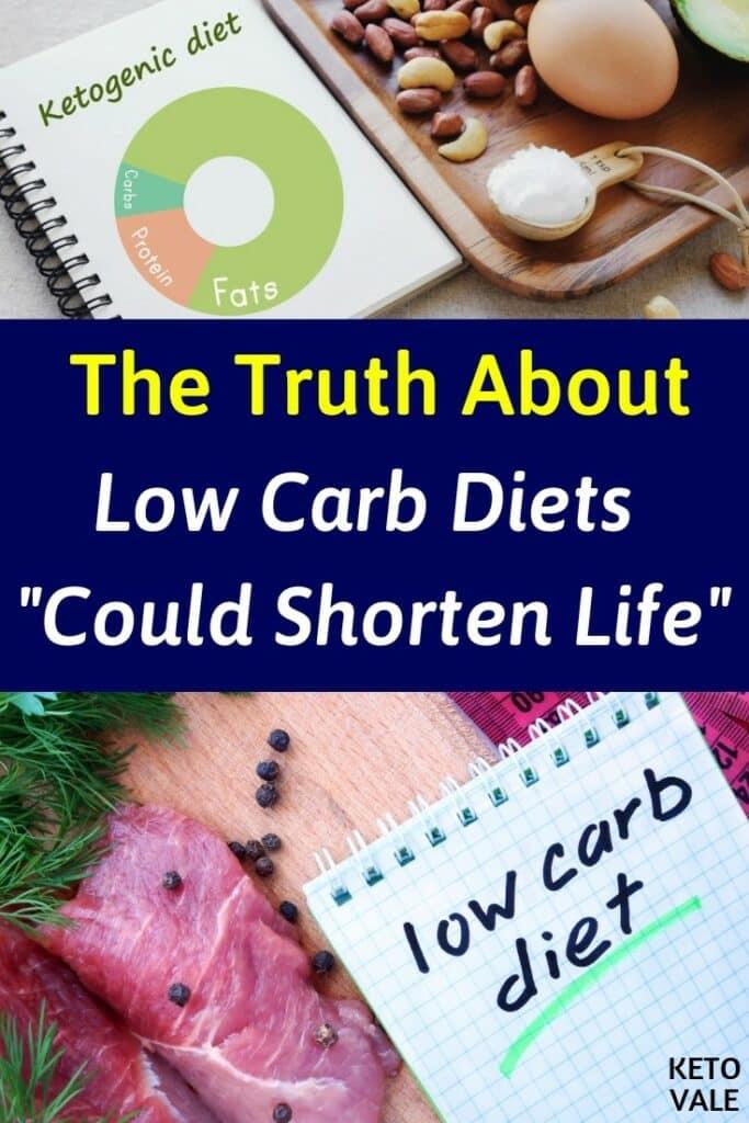 low carb diets shorten life