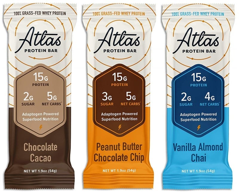 Atlas protein bars