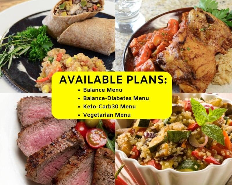 diet-to-go menu