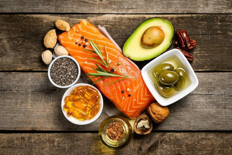 healthy omega 3 unsaturated fats