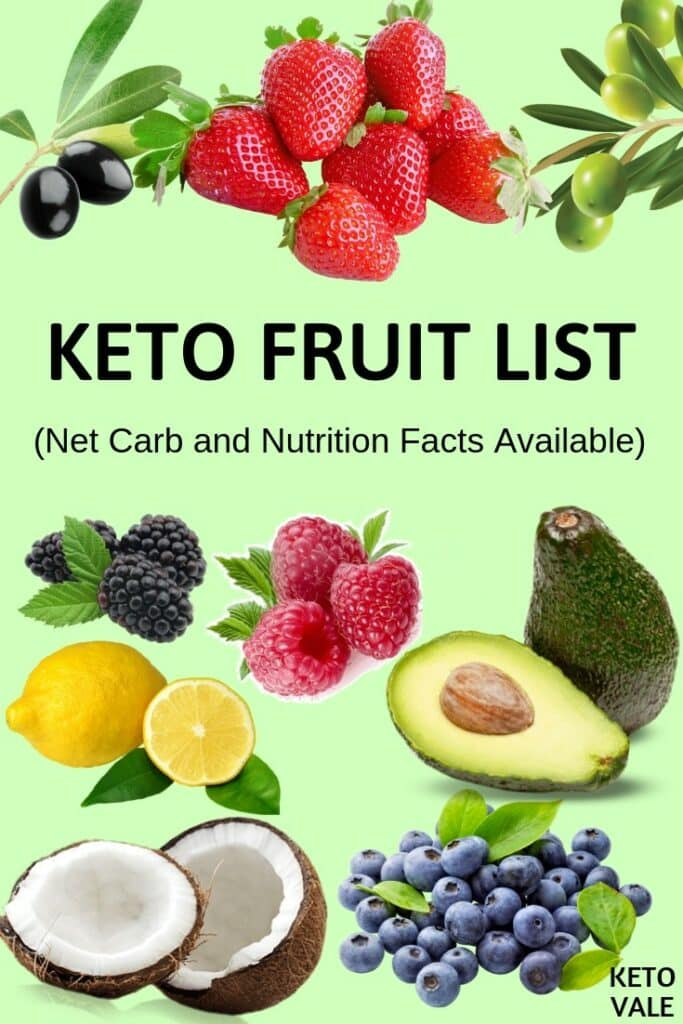 keto fruit list