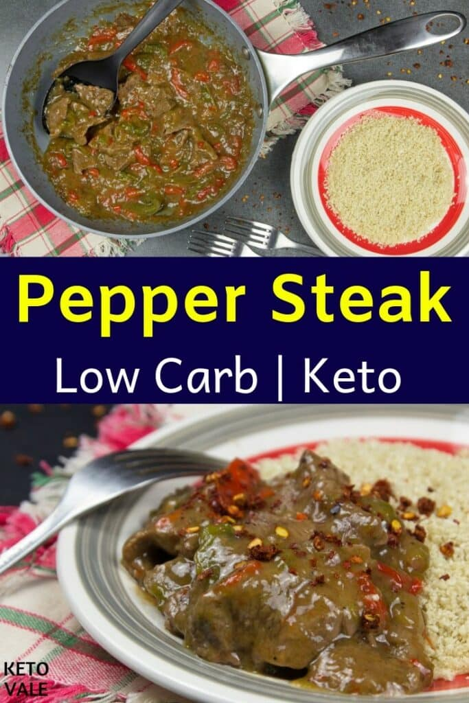 keto pepper steak