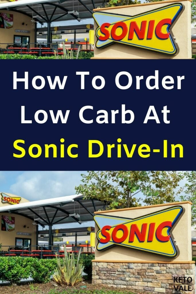 sonic drive in keto