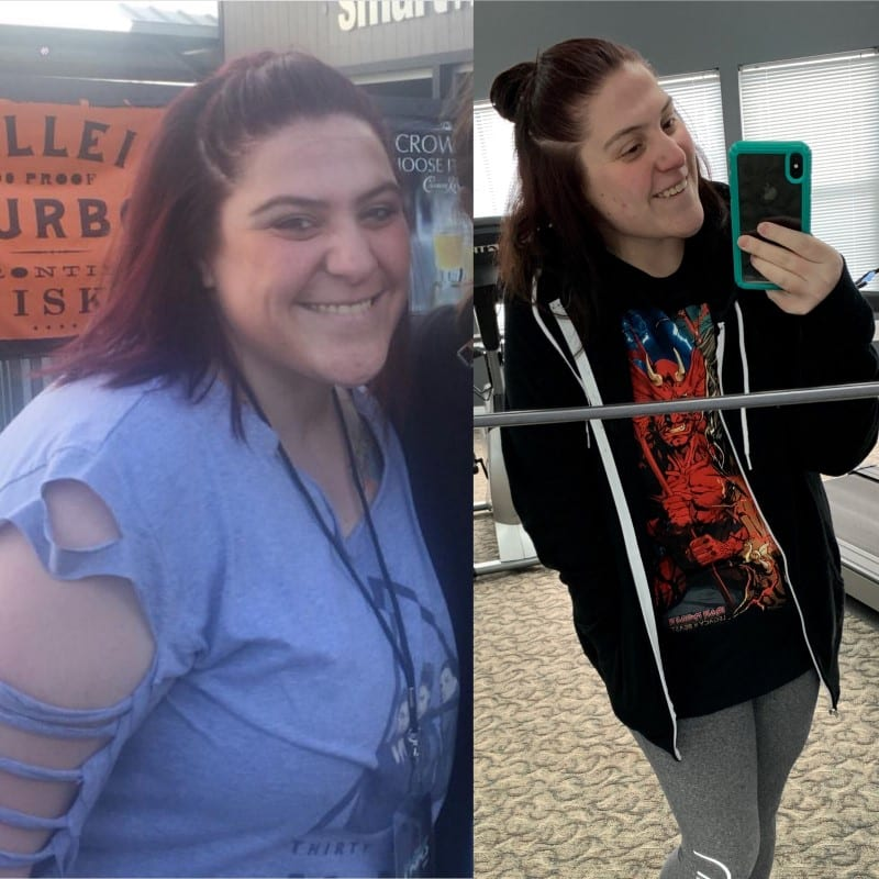 alexandria lehman weight loss