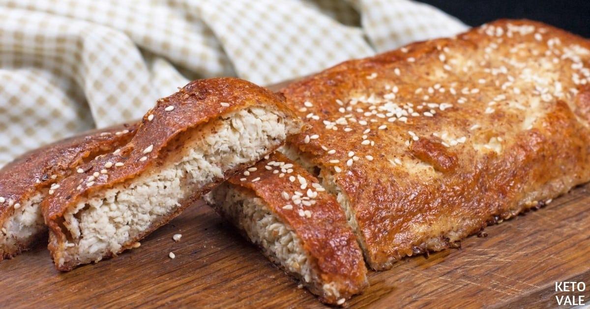 chicken fathead bread