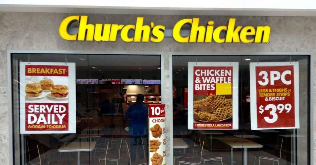 church's chicken keto options