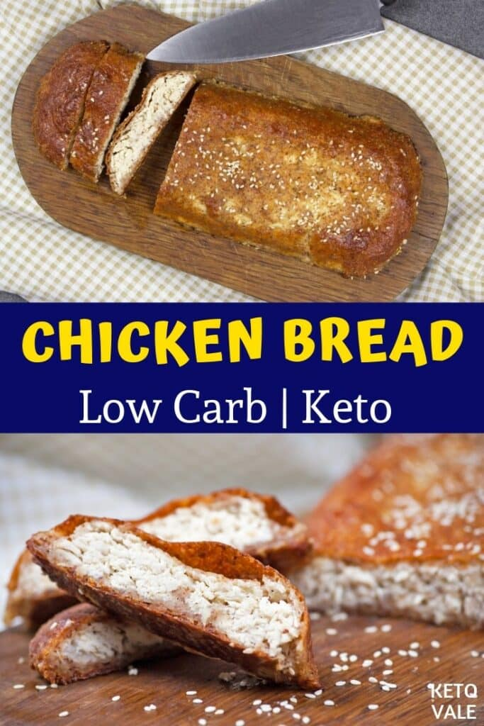 keto chicken bread