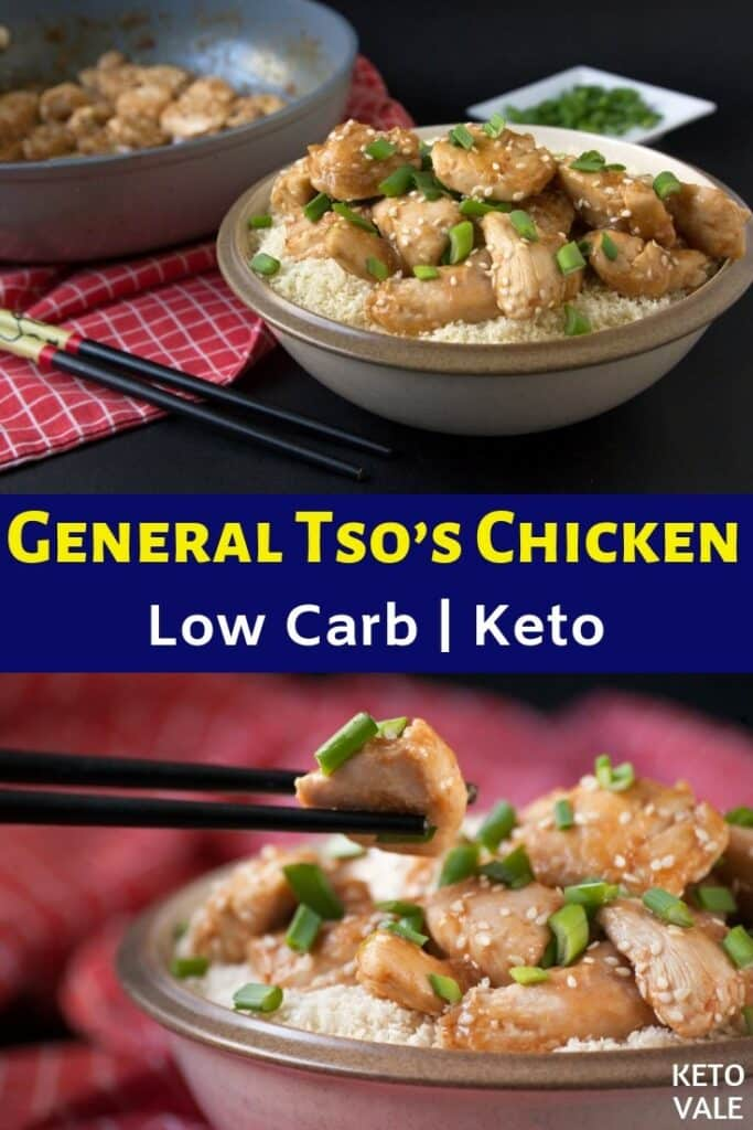 keto general tsos chicken