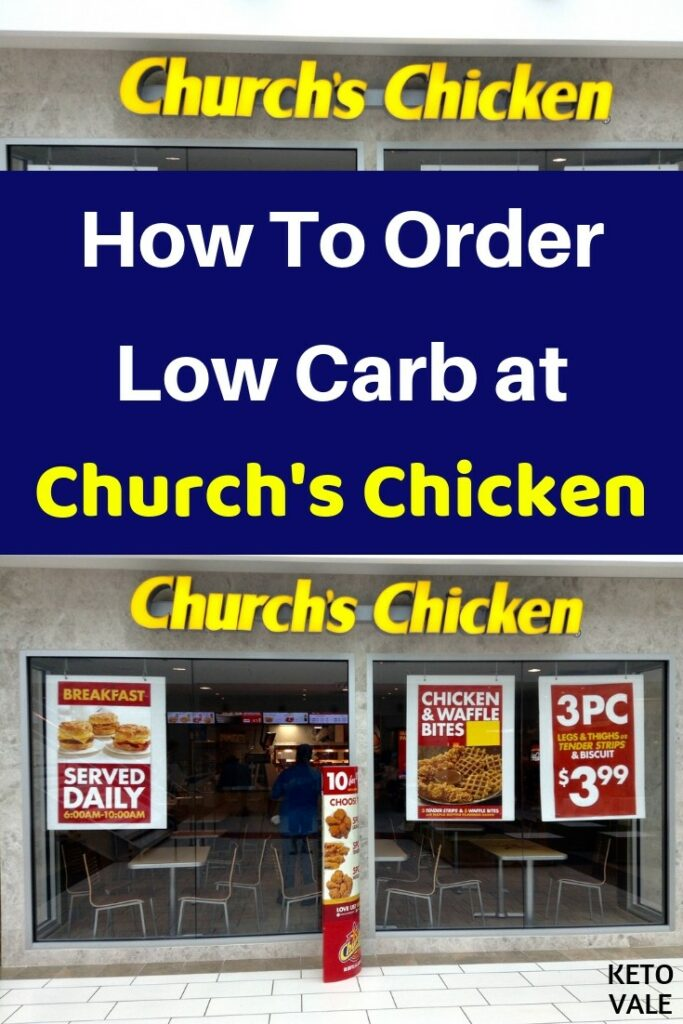 low carb church's chicken