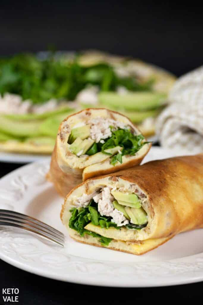 low carb egg roll ups