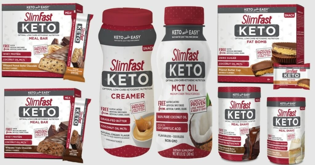 slimfast keto review