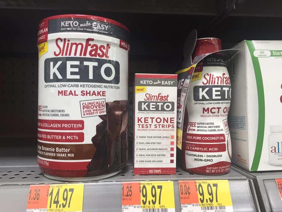 slimfast shakes
