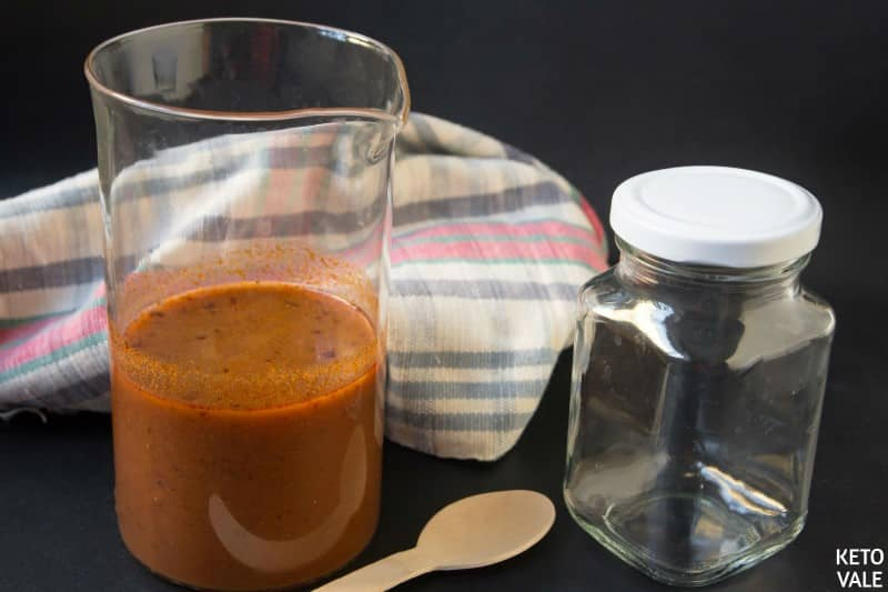 store enchilada sauce in a jar