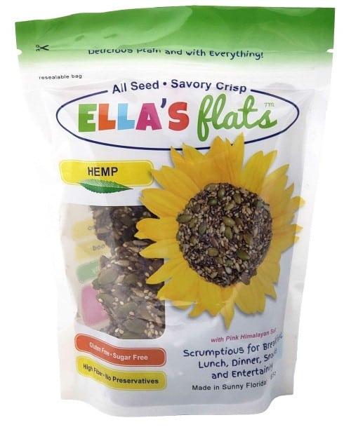 ella's flats all seed savory crisps