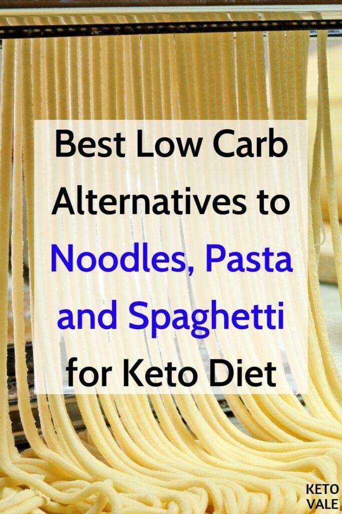 keto noodles substitutes