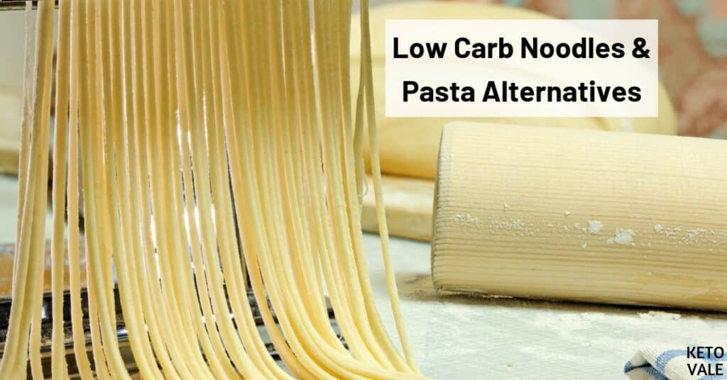 low carb pasta alternatives