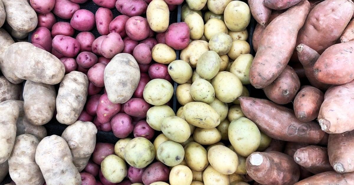 low carb potato