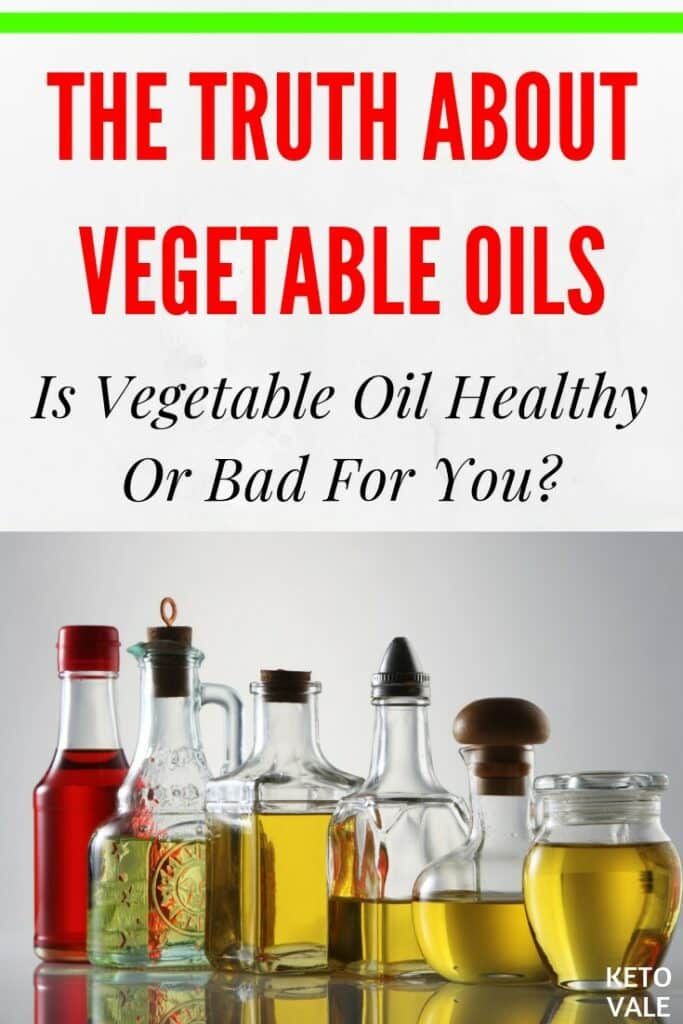 vegetable oil bad