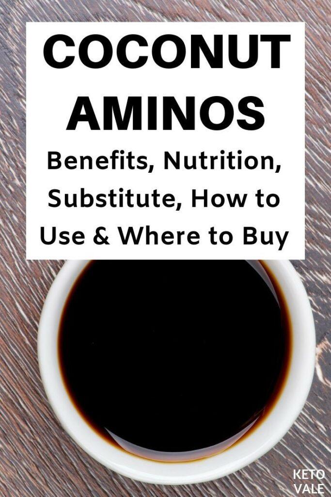 coconut aminos keto