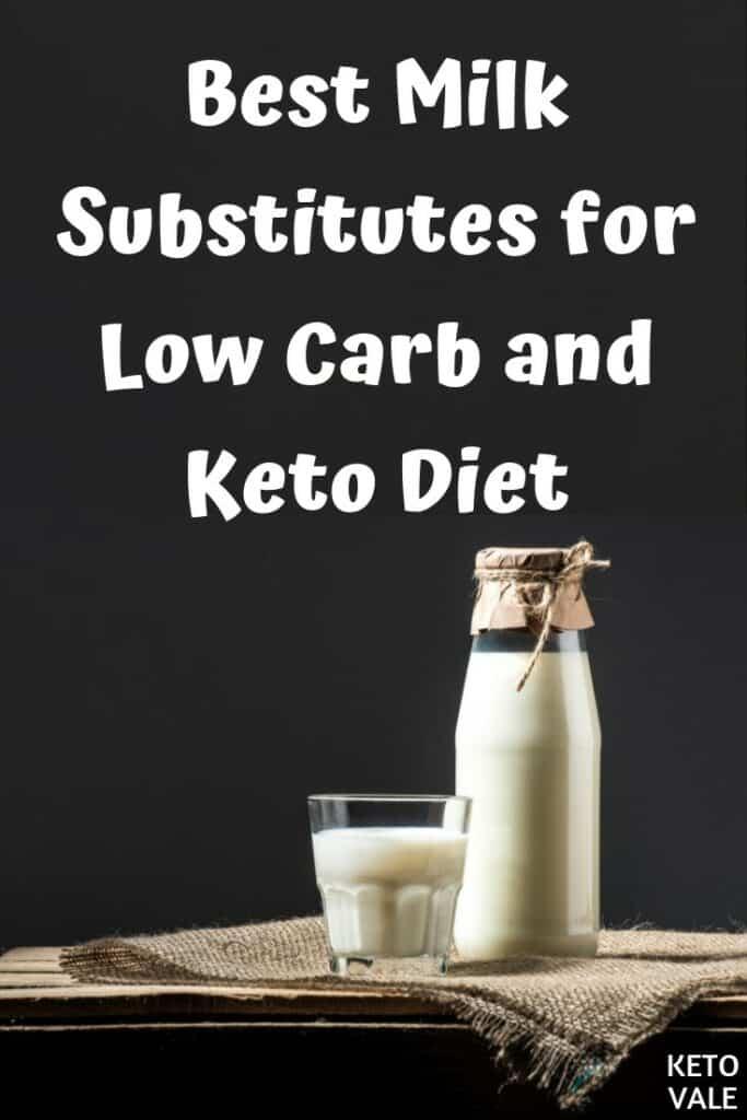 milk in keto diet plan