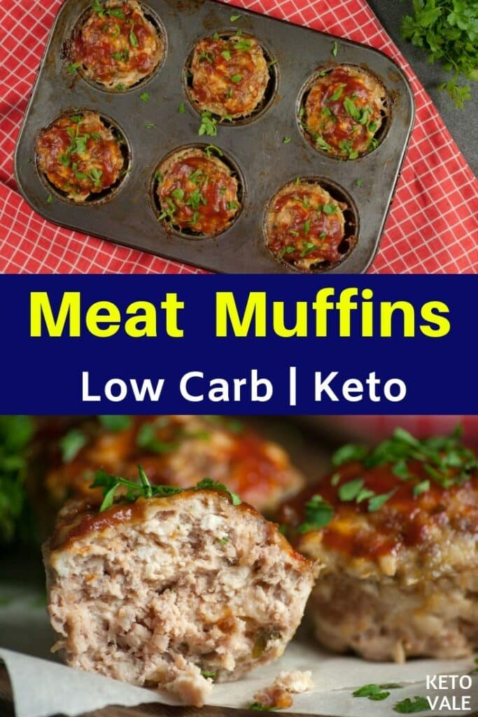 low carb meat muffins