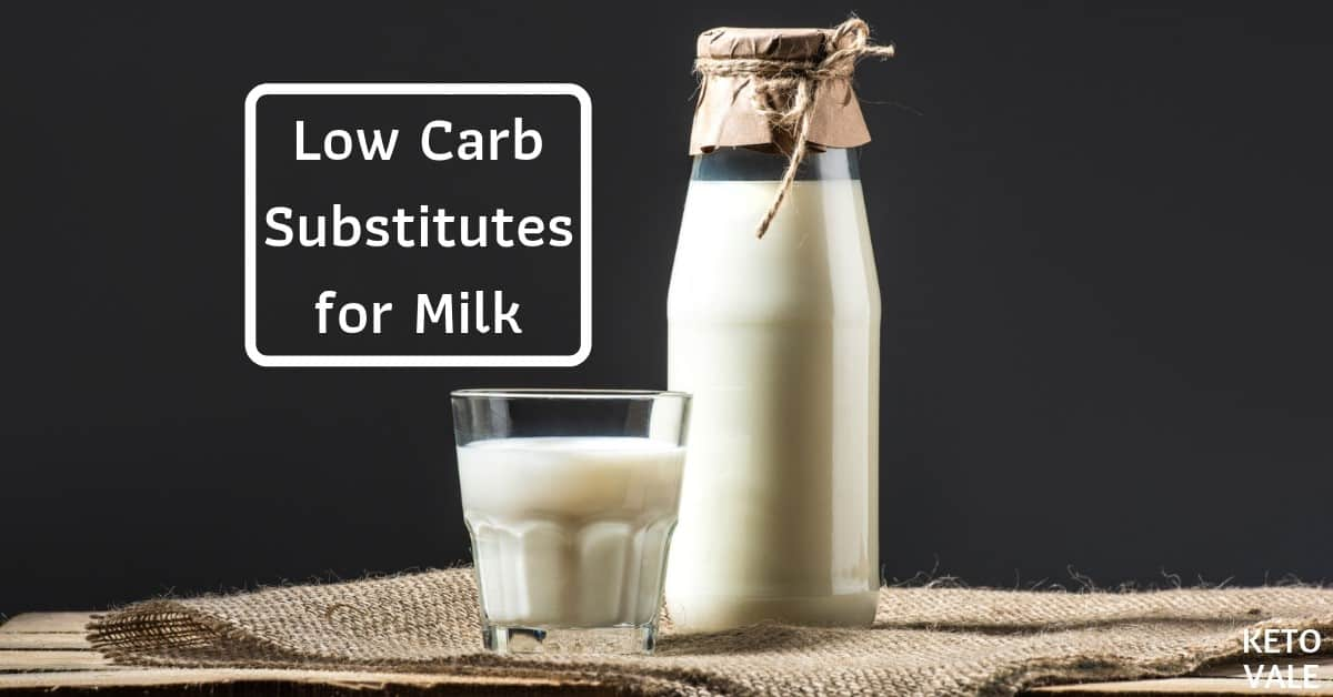 low carb milk