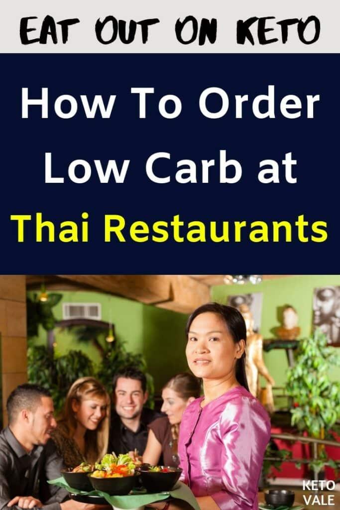 low carb thai restaurants