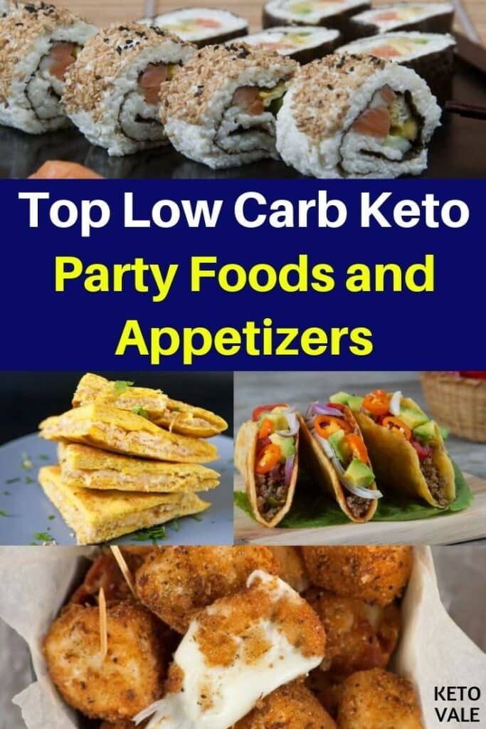 low carb party foods