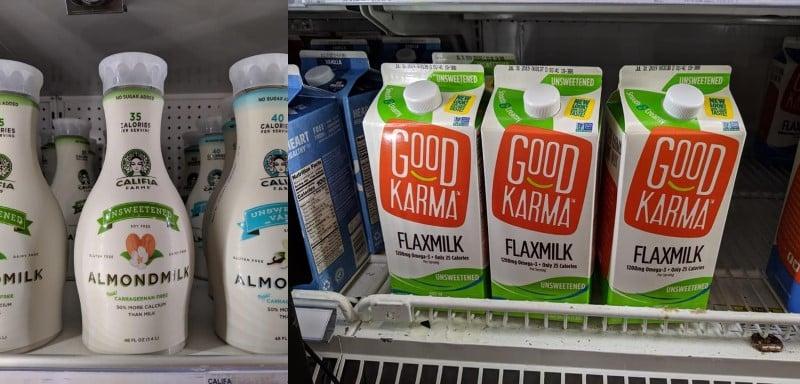 non-dairy milk target