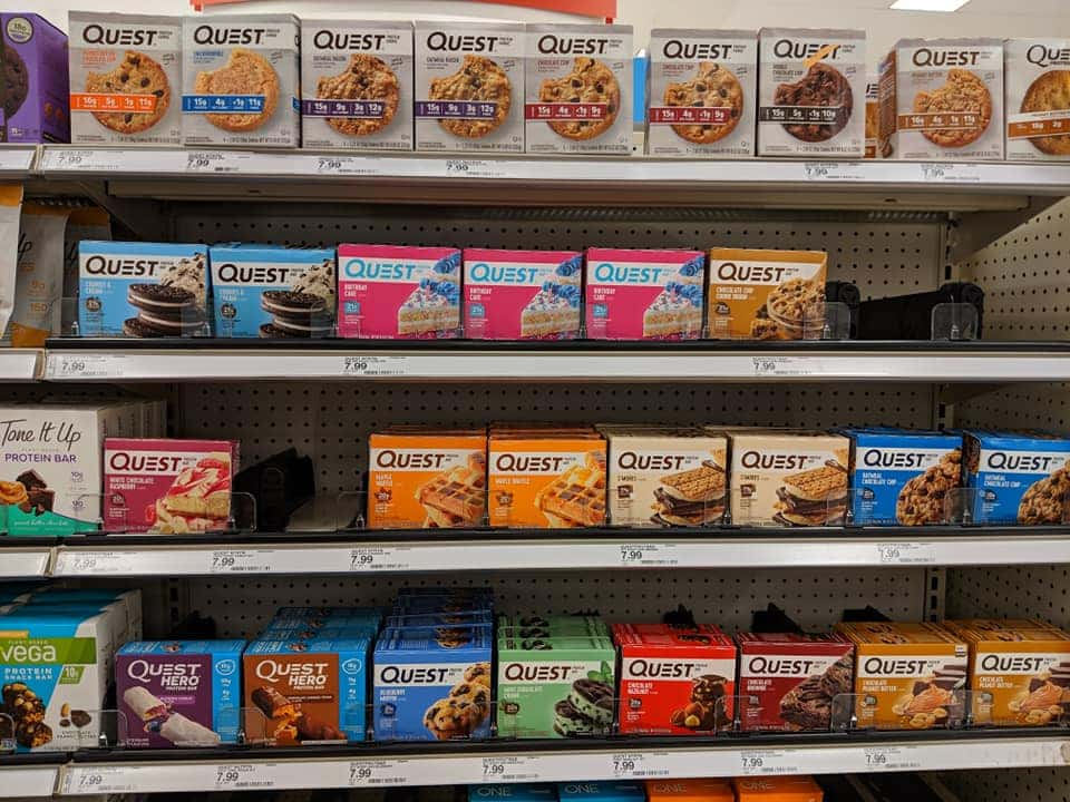 quest products target
