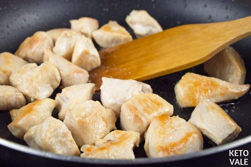 cook chicken in coconut oil
