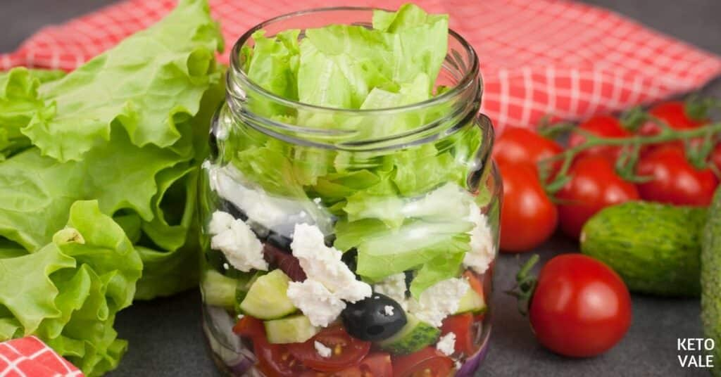 greek style jar salad