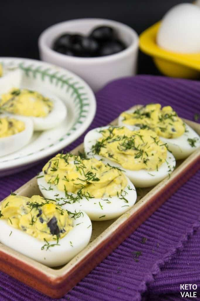 keto olives blue cheese eggs