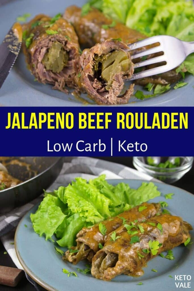 low carb beef rouladen