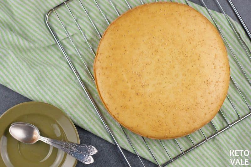 bake sponge cake