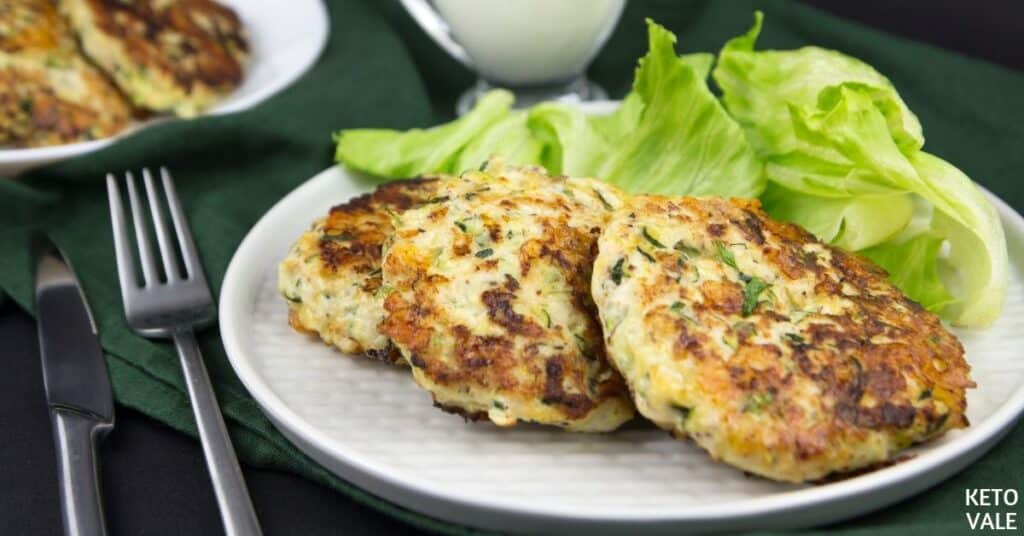 chicken zucchini fritters