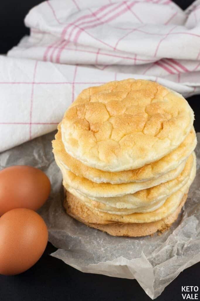 keto collagen cloud bread