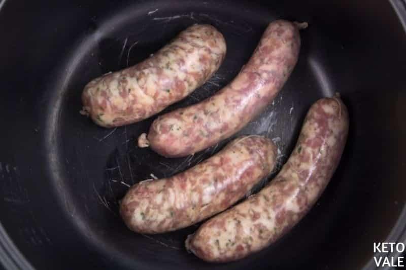 keto italian sausage