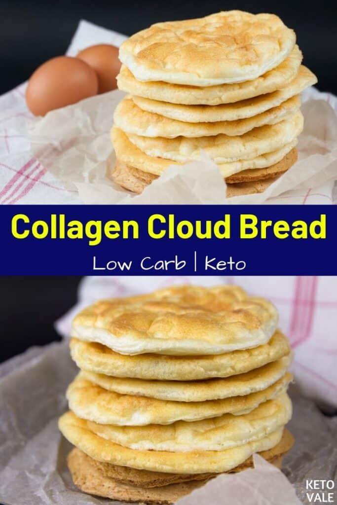 low carb collagen cloud bread