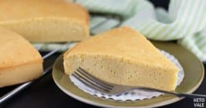 low carb sponge cake