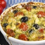mediterranean pesto chicken casserole