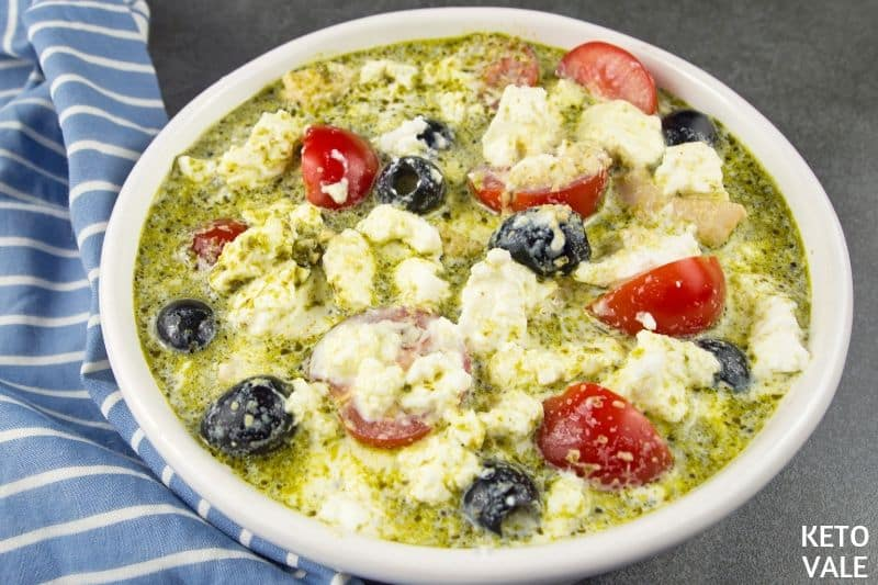 mix pesto feta chicken