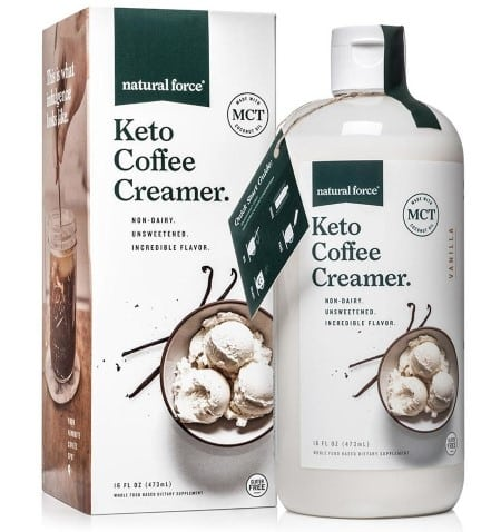natural force coffee creamer
