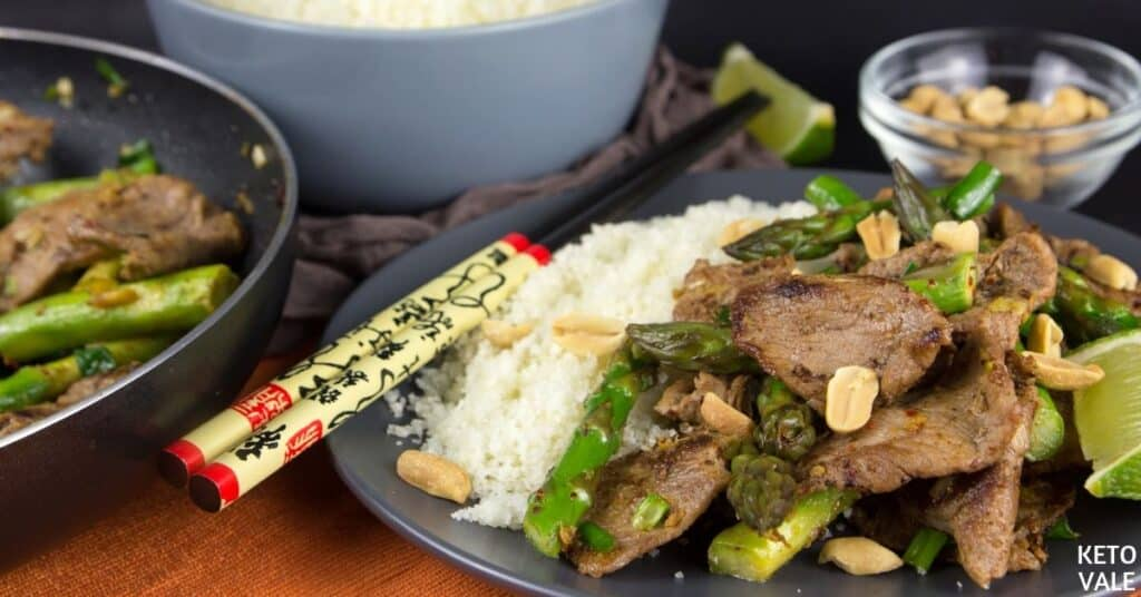 steak asparagus stir fry